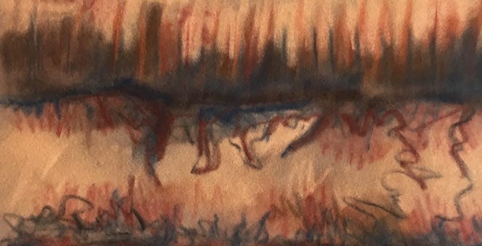 Woodpiles (16x35cm)