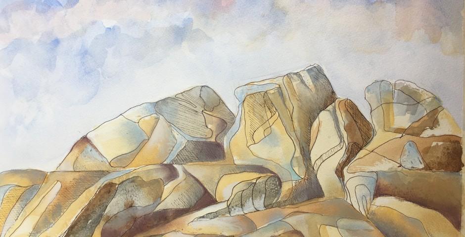 Sardinia - Rock study 3