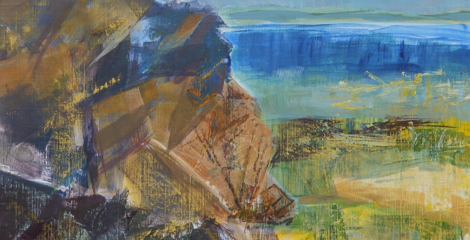 Cliff edge, St Ives